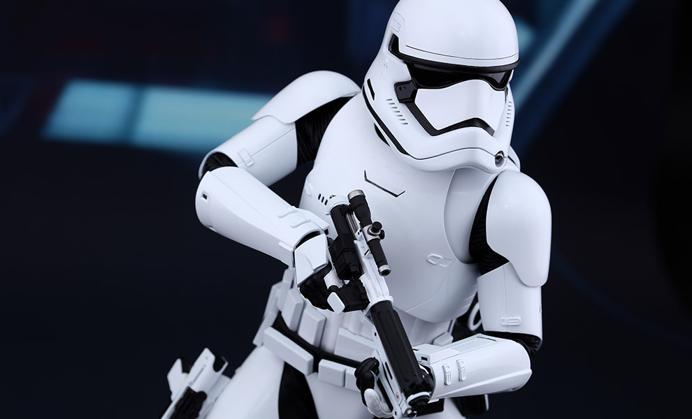 Star Wars First Order Stormtrooper Sixth Scale Figure by Hot 990x600