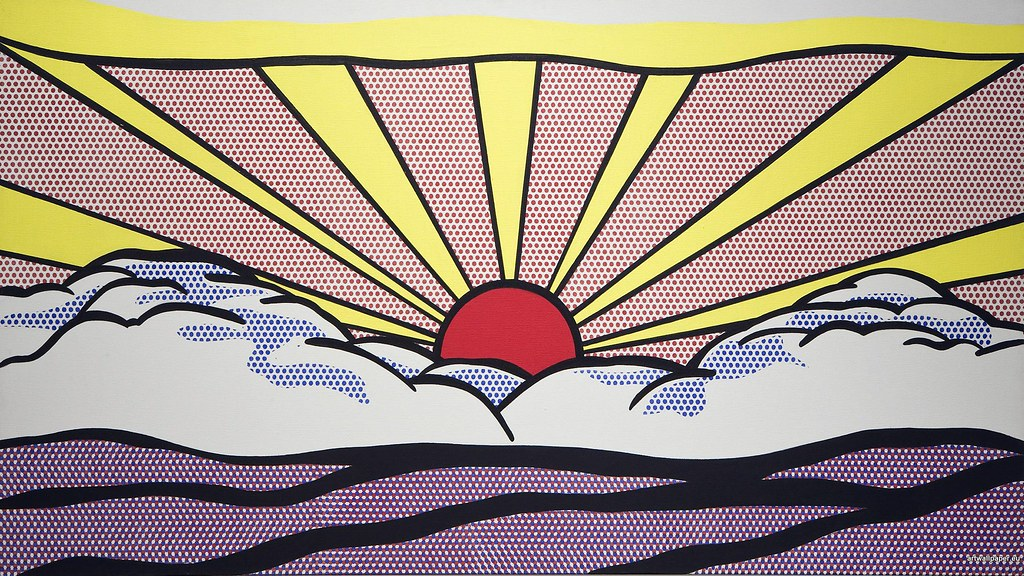 hd wallpapers roy lichtenstein wallpaper pop art gallery 2 Flickr 1024x576