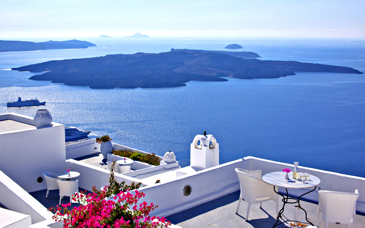 Santorini Wallpapers K4D6A1H 19099 Kb Wallperiocom 1280x800
