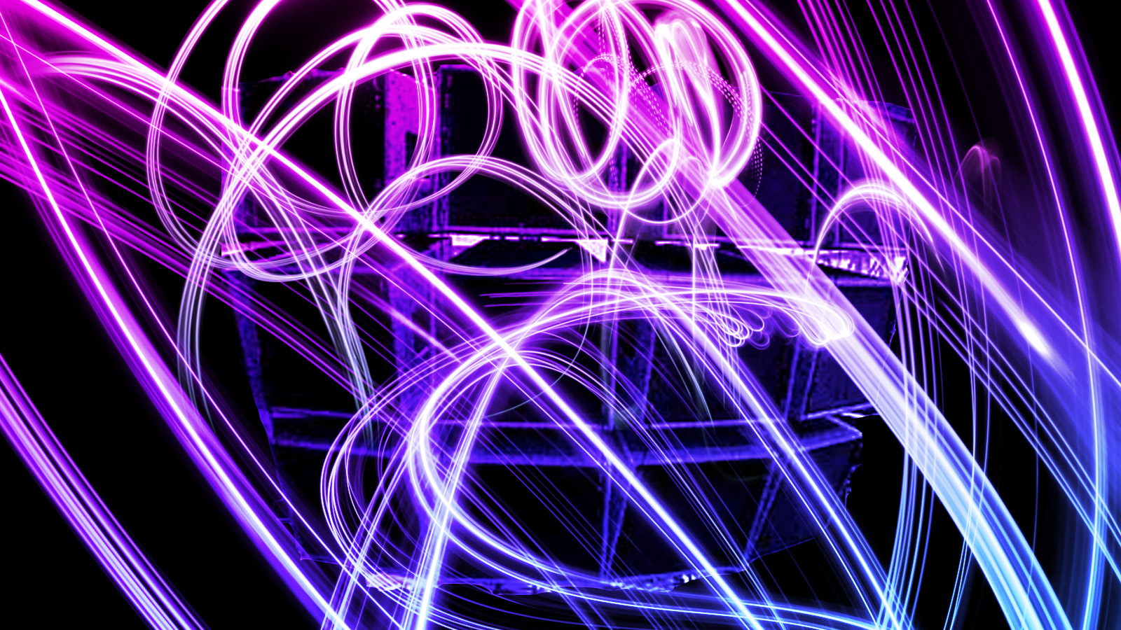 Neon lights background by Joe Chacho 1600x900