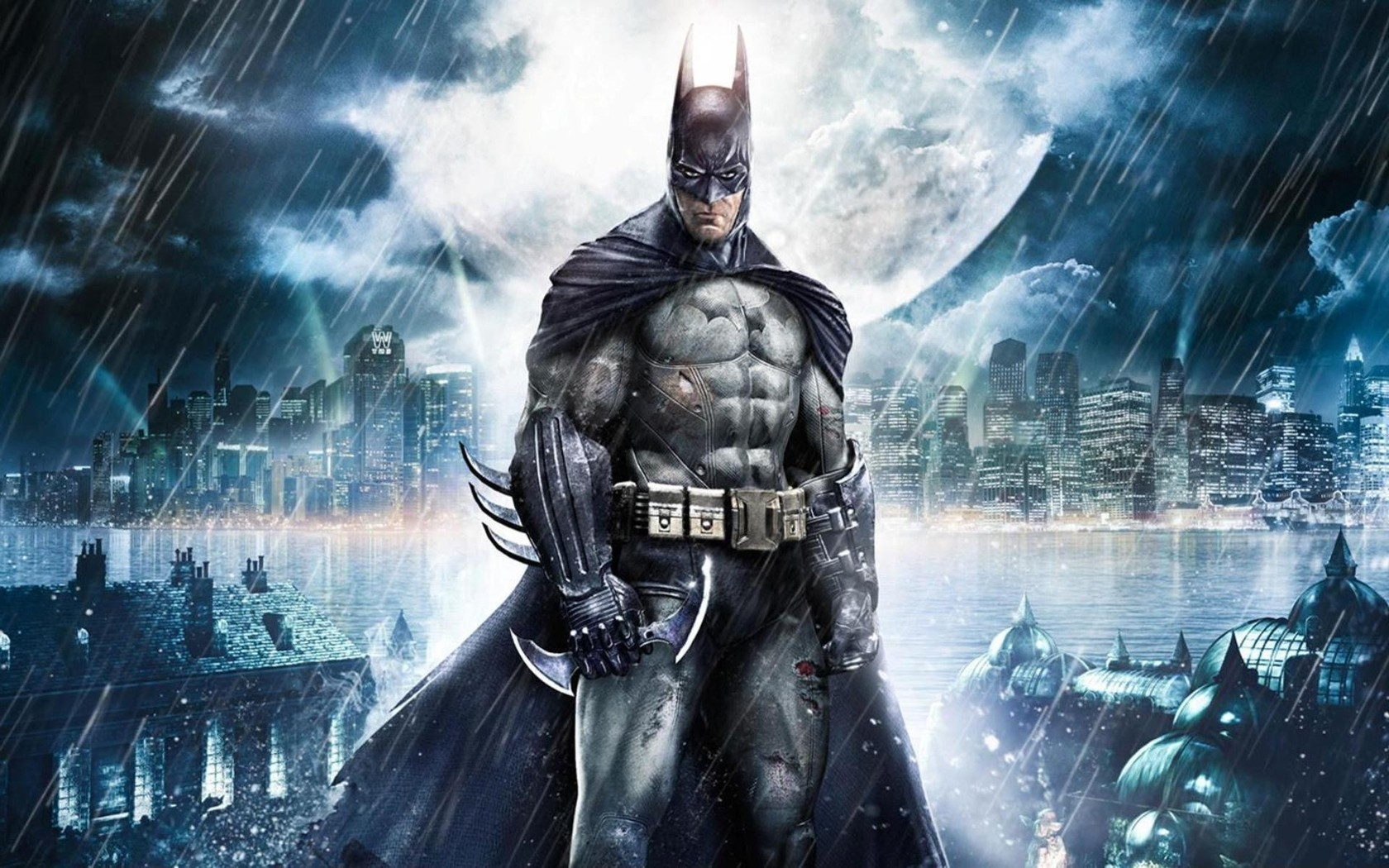 Batman   Arkham Asylum wallpaper 5552 1680x1050