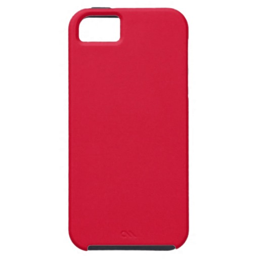 123 SOLID RED BACKGROUND WALLPAPER TEMPLATE TEXTUR iPhone 5 COVER 512x512