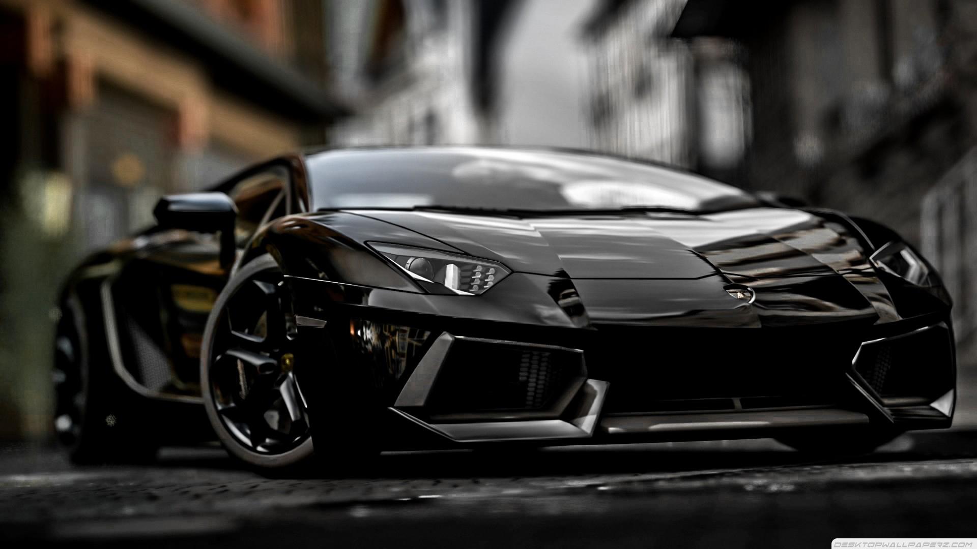 44 Black Lamborghini Aventador Wallpaper On Wallpapersafari