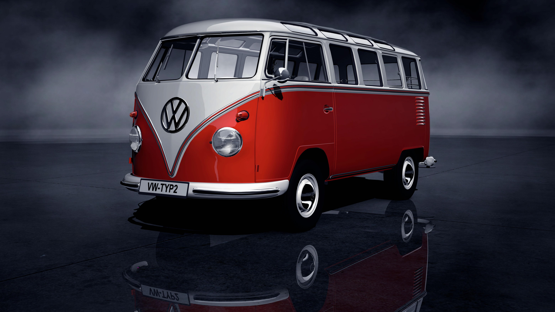 Volkswagen T1   Highroof Type 213 MotoBurg 5760x3240