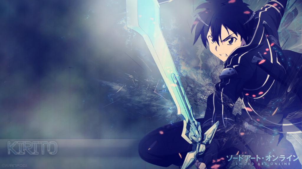 Kirito Wallpaper Sword Art Online by tutosplayer 1024x576