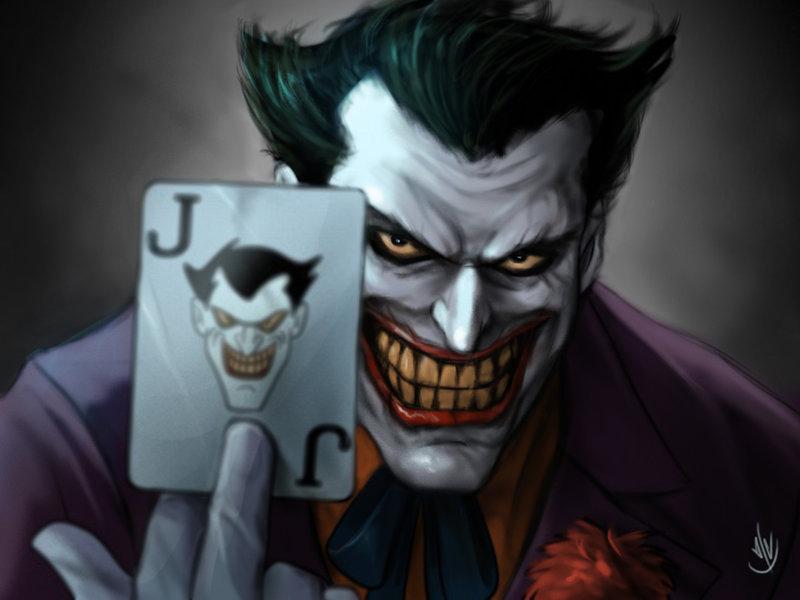 Top Batman Joker Card Wallpapers 800x600
