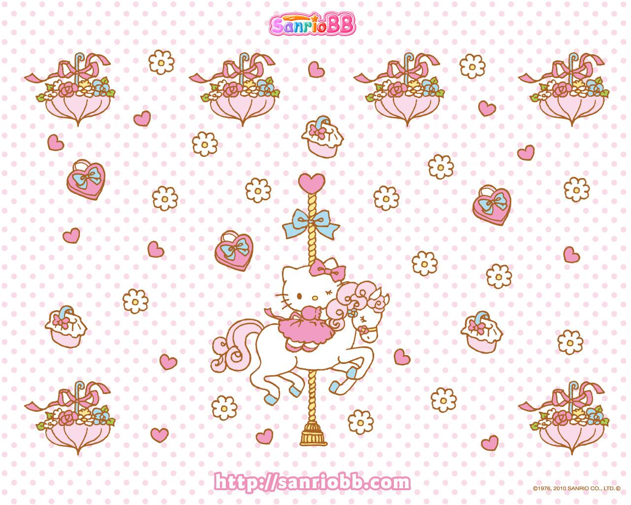 Sugar Bunnies Wallpaper Sanrio Wallpapers Kawaii Images   Frompo 1280x1024
