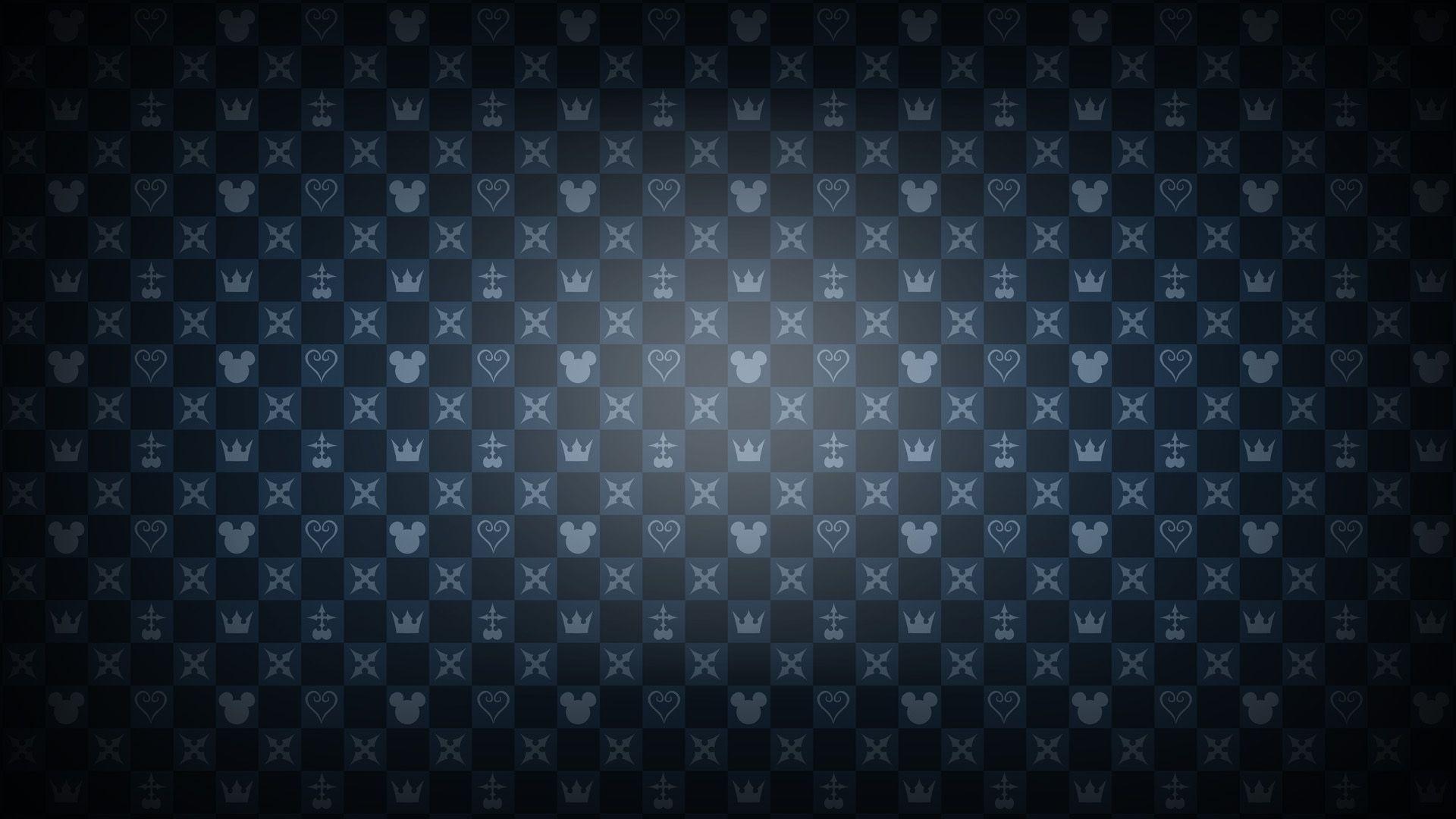 Kingdom Hearts pattern wallpaper 14547 1920x1080