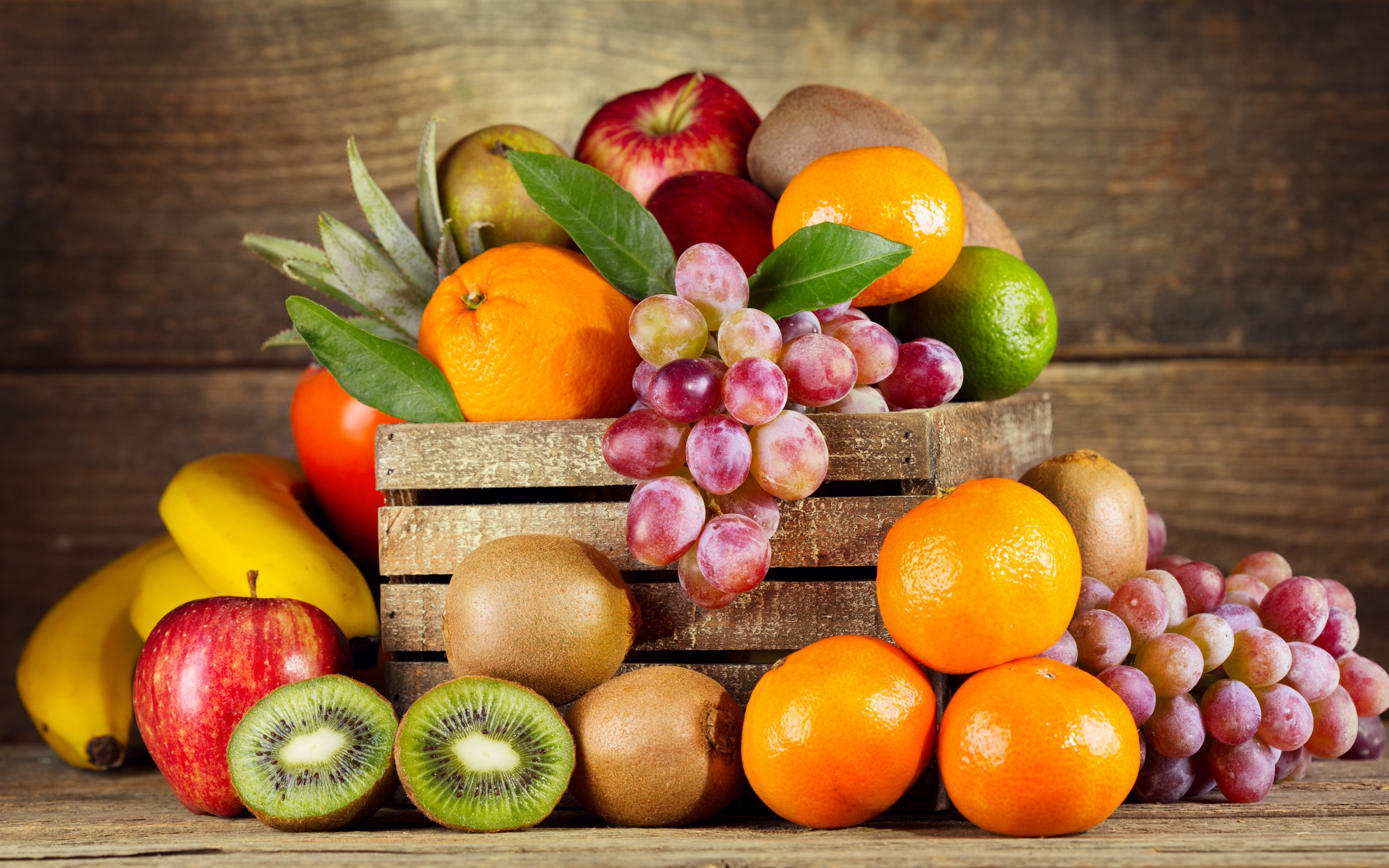 Fresh Fruits Wide Wallpapers 2560x1600