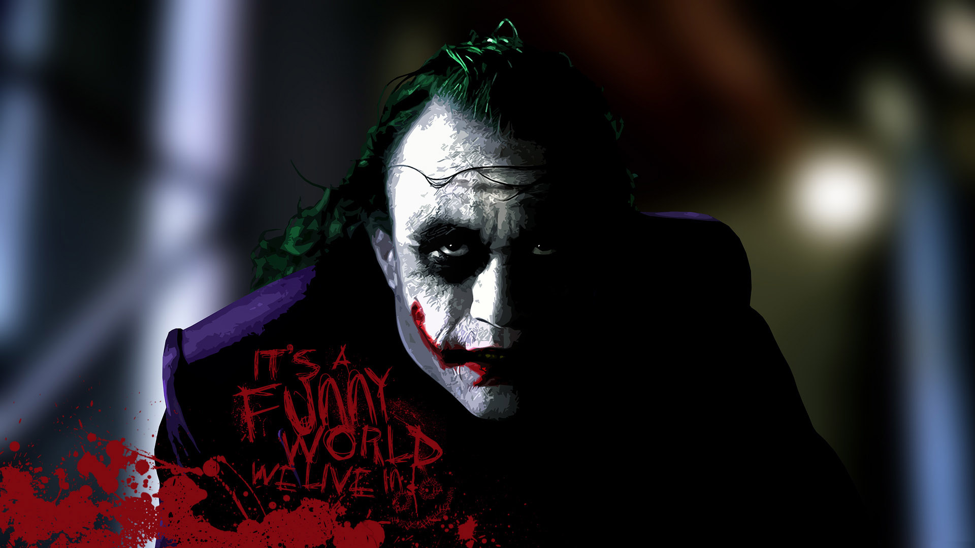 The Joker   The Dark Knight wallpaper 20426 1920x1080