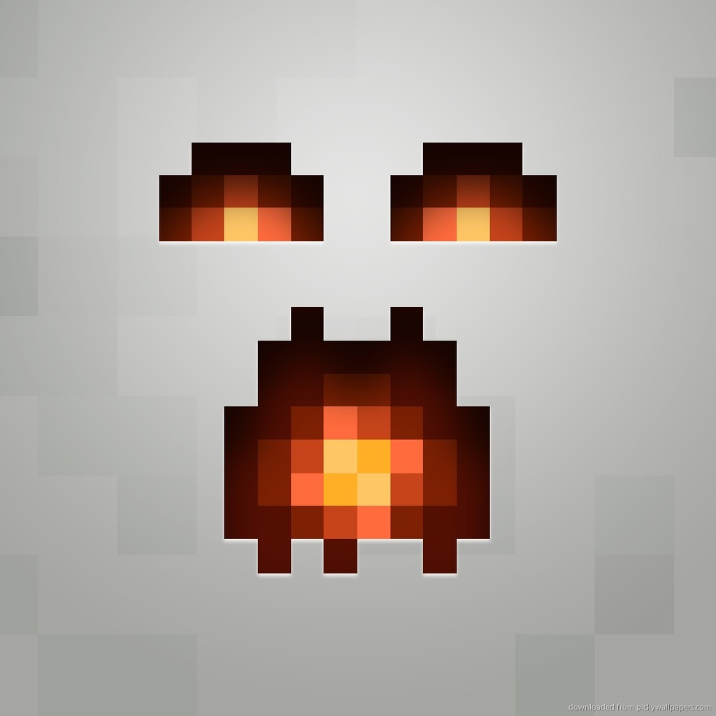 Minecraft Character Faces Minecraft ghast for ipad 2 1024x1024