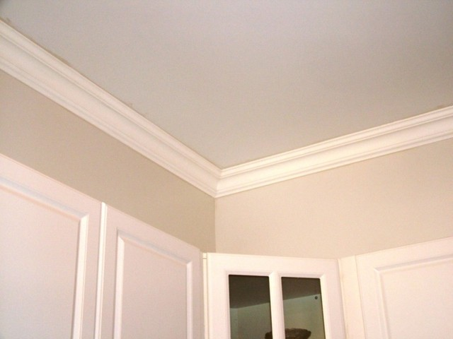 DCT Plain Styrofoam Crown Molding 6 in wide 65 ft long   Wallpaper 640x480