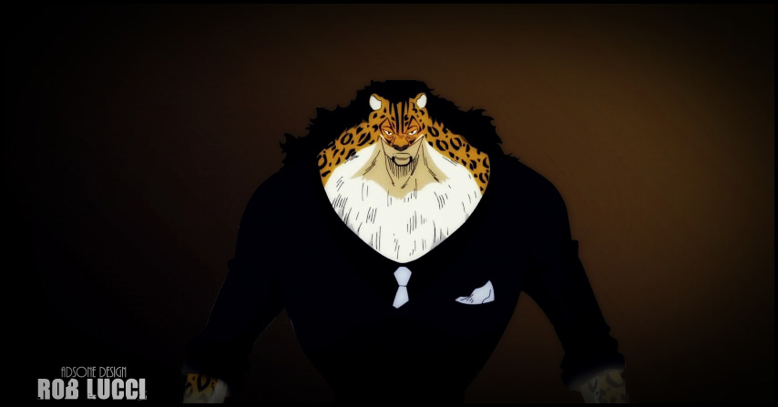 One Piece Rob Lucci by Adonis90 854x447