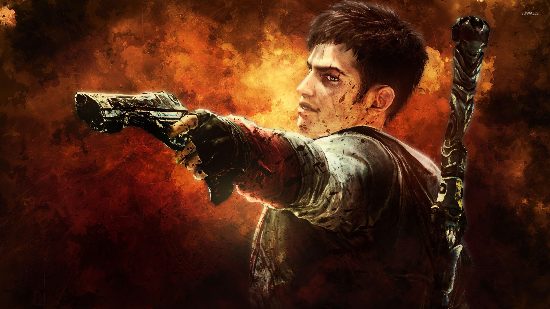 Dante   Devil May Cry 5 wallpaper   Game wallpapers   15670 1920x1080
