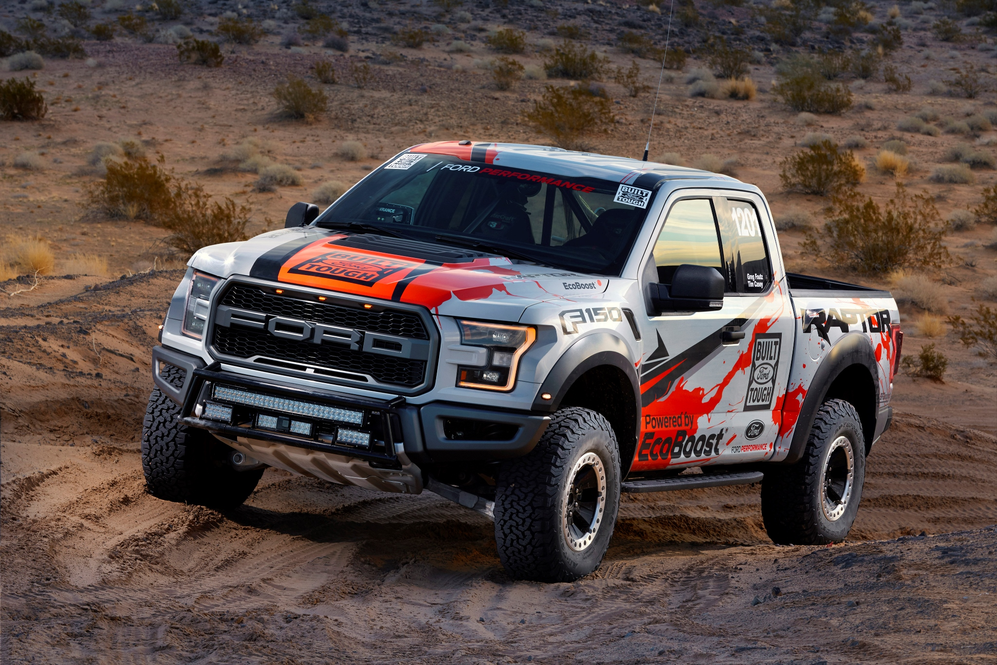 2017 Ford F 150 Raptor Race Truck wallpaper HD desktop 2048x1366