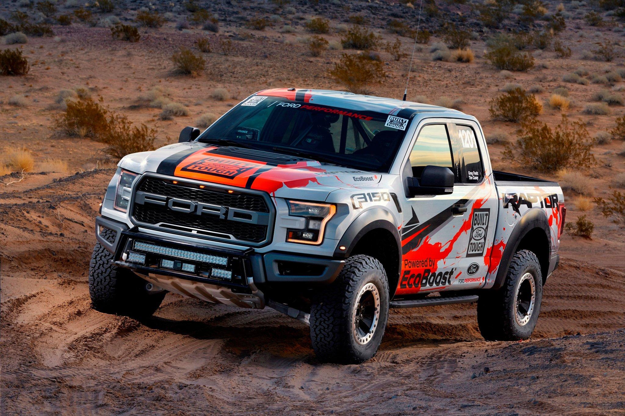2017 ford f 150 raptor race truck wallpaper hd free desktop