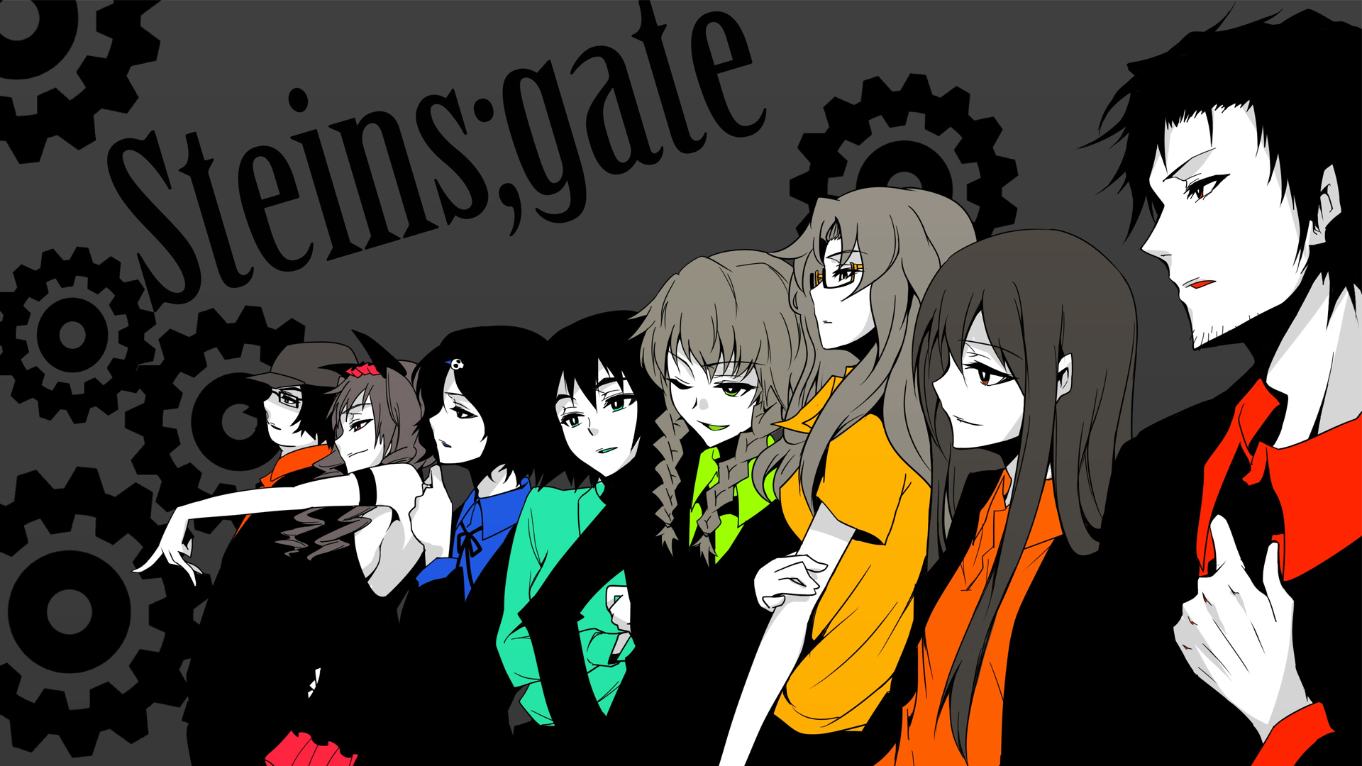 Free Download Anime Steins Gate Wallpaper 1920x1080 Anime Steins