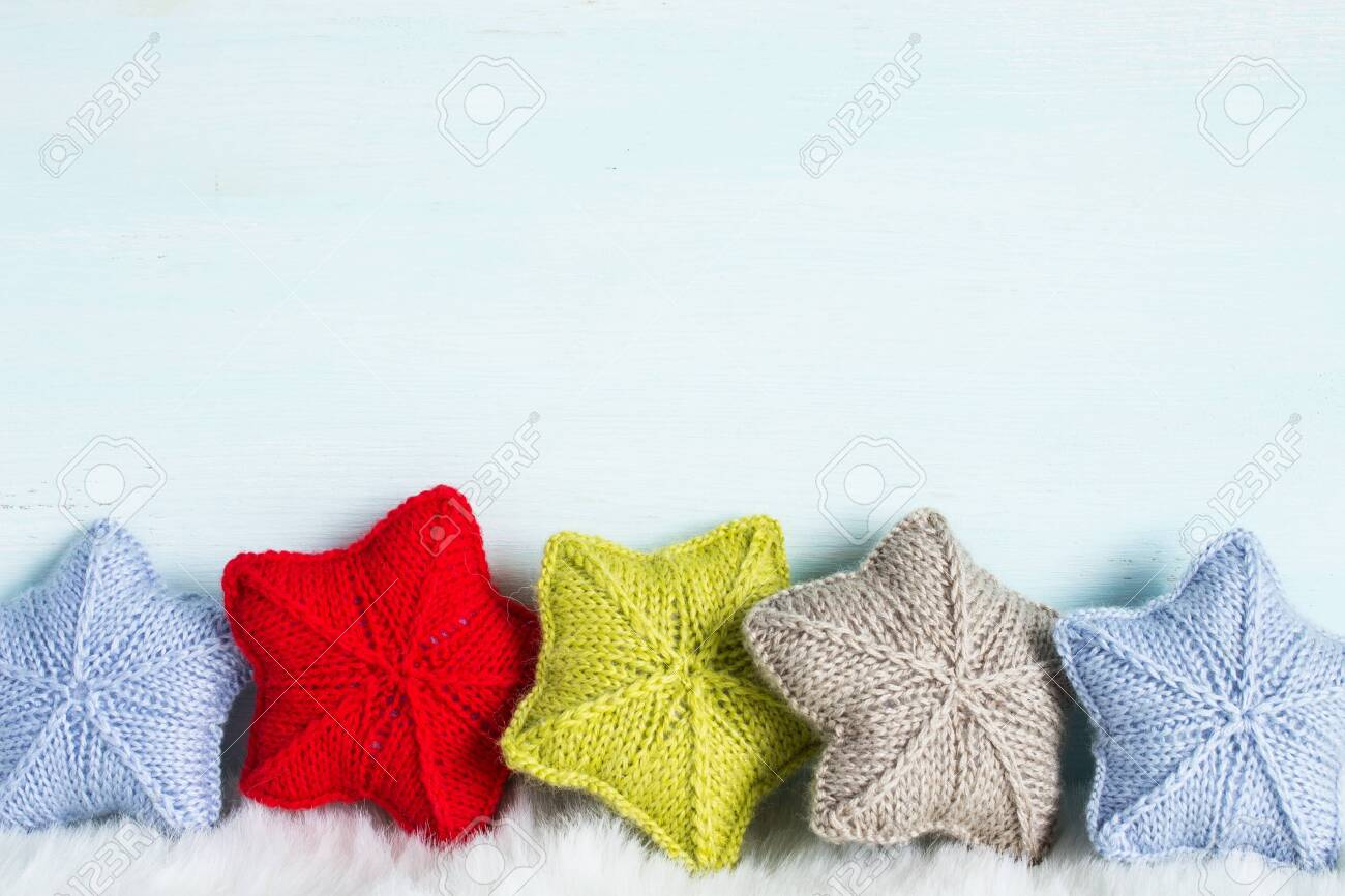 Christmas And New Year Theme Knitted Christmas Ornaments Soulful 1300x866