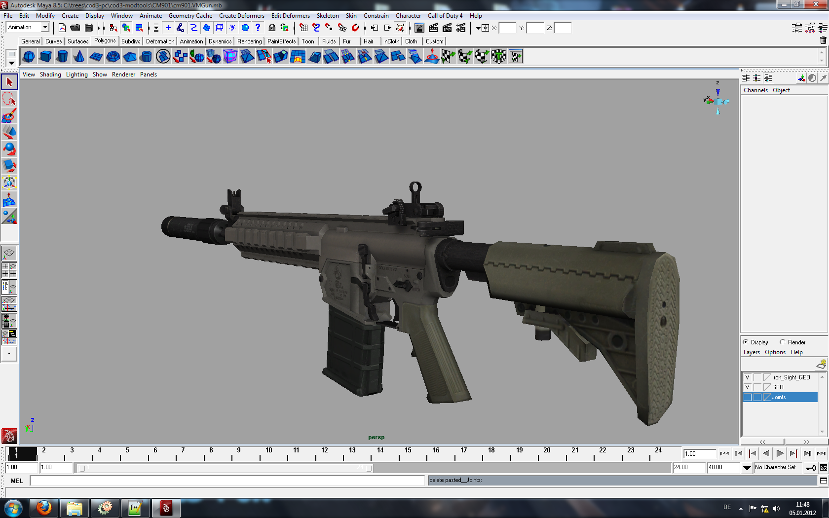CM901   model image   Icecold Warfare mod for Call of Duty 4 1680x1050