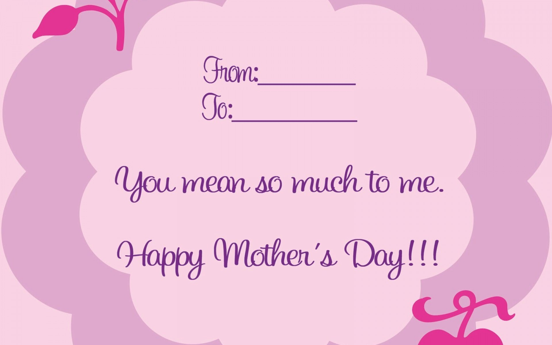 mother day crads