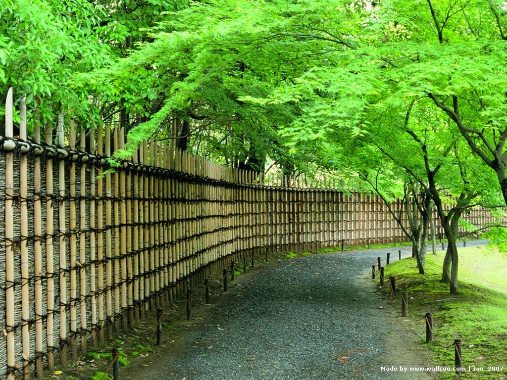 Kyoto Japanese Garden wallpapers 1024x768 NO3 Desktop Wallpaper 1024x768