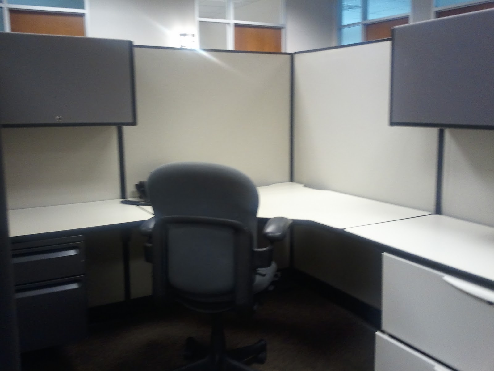 cardigan junkie DIY Cubicle Makeover 1600x1200