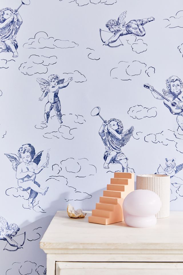 Cherub Removable Wallpaper Urban Outfitters 640x960