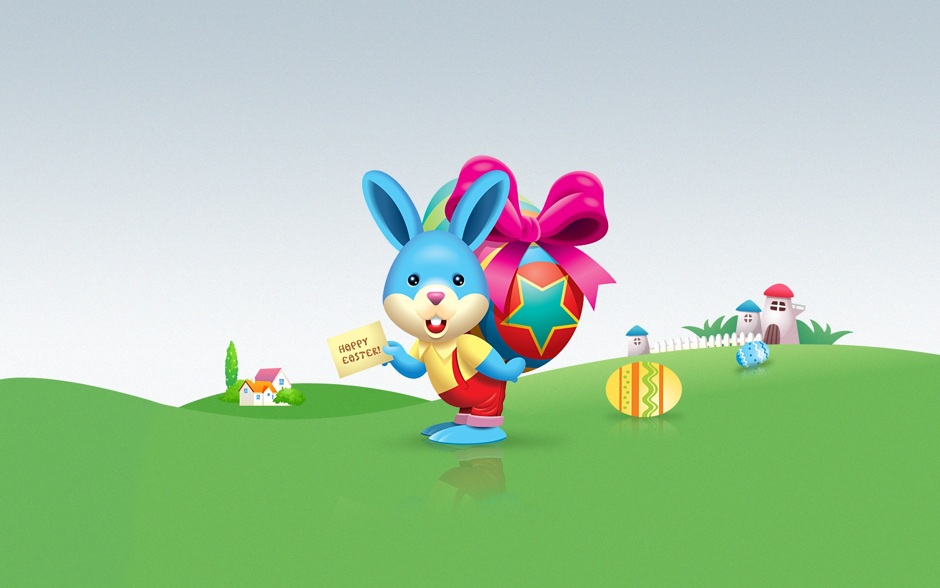 Happy Easter Bunny Wallpapers 1920x1200