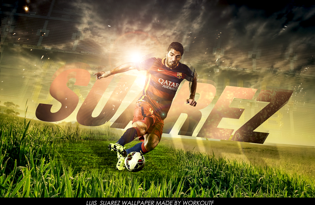 Luis Suarez Wallpaper by workoutf 1024x669