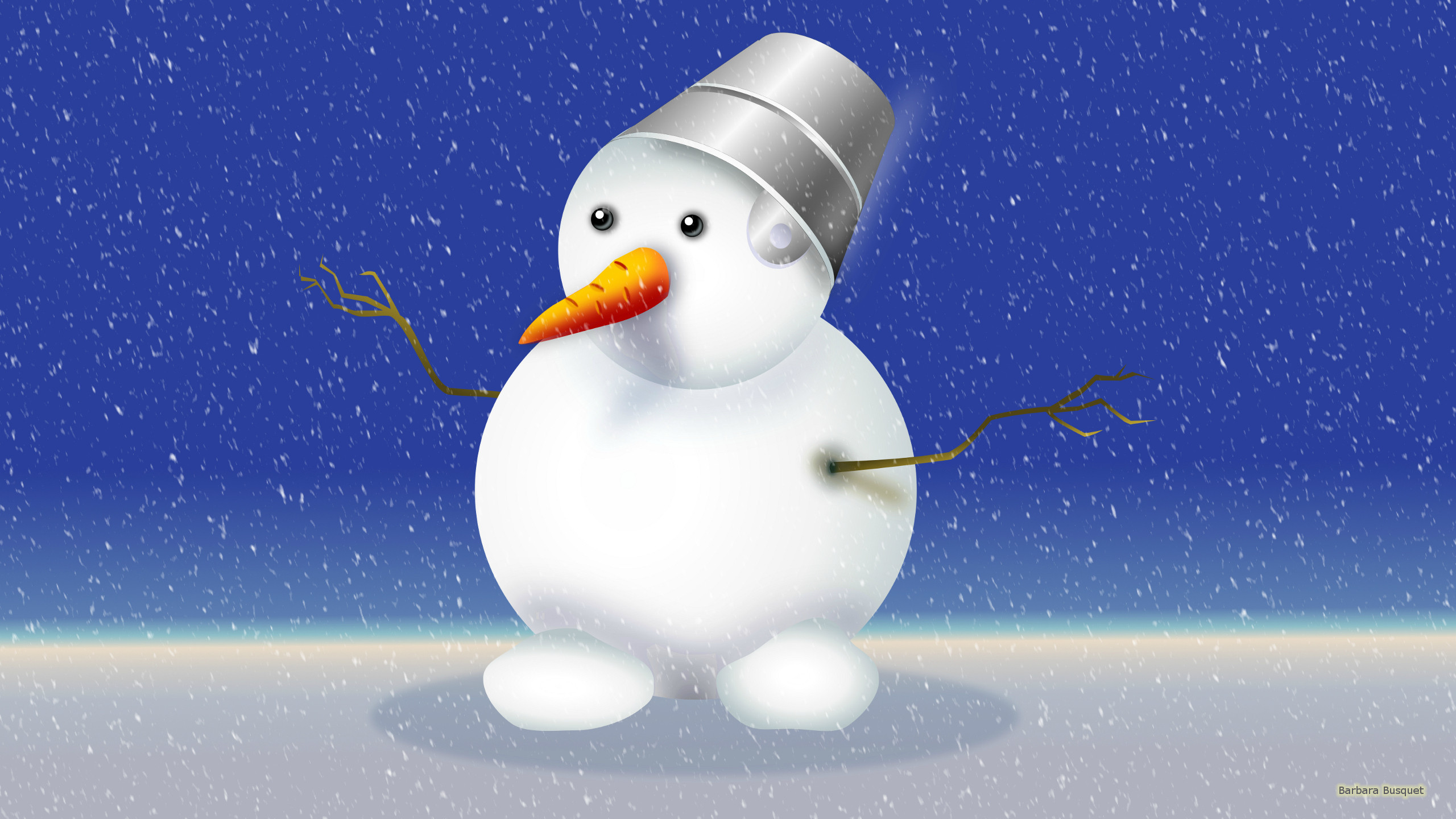 Snowman wallpapers   Barbaras HD Wallpapers 2560x1440