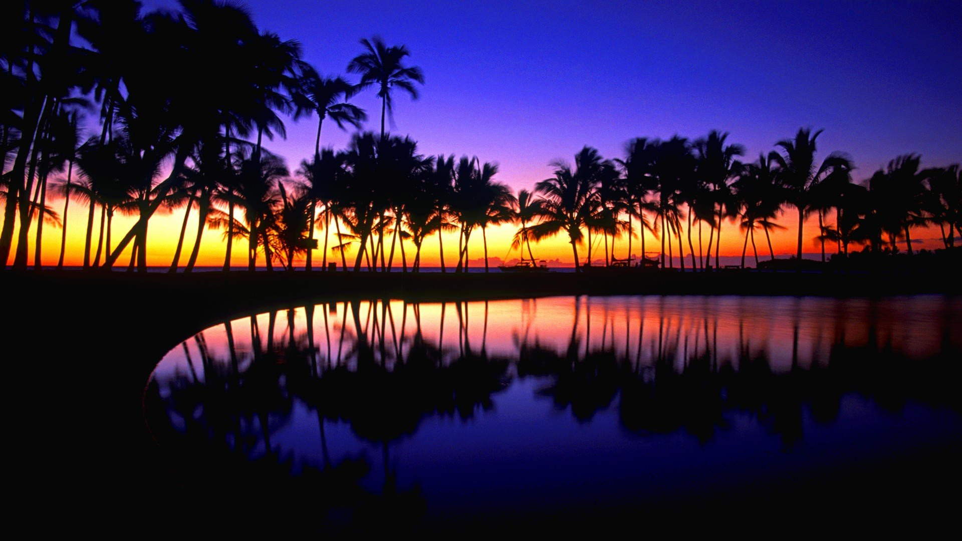 Hd Tropical Island Beach Paradise Wallpapers And Backgrounds: Tropical Desktop Wallpaper 1920x1080