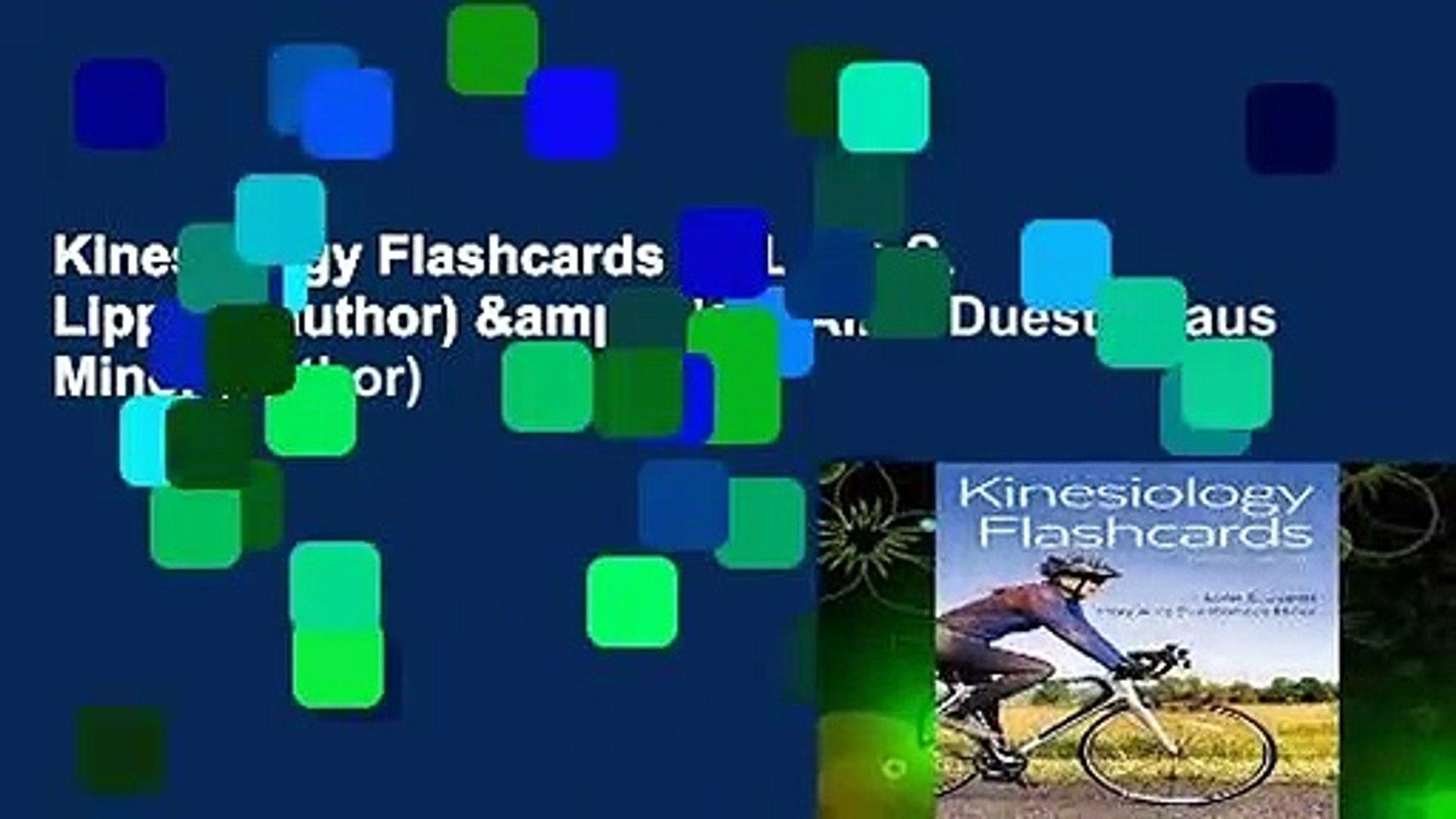 Kinesiology Flashcards by Lynn S Lippert author Mary Alice 1920x1080