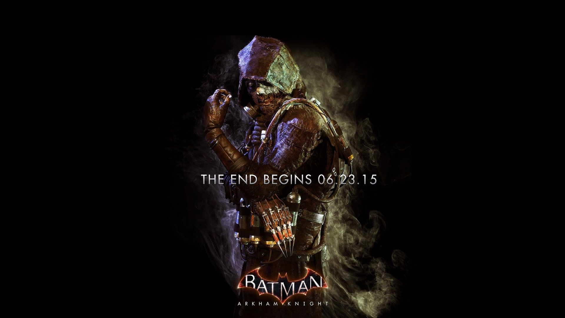 Batman Arkham Knight Scarecrow Poster Wallpaper 1920x1080