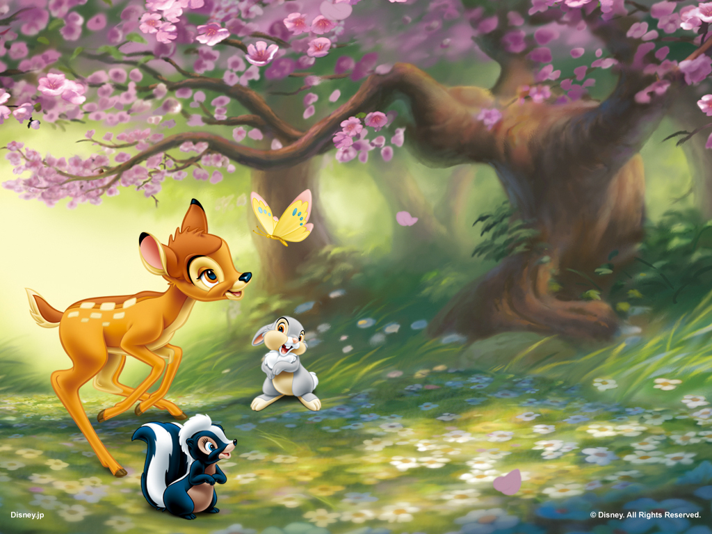Bambi   Disney Wallpaper 11583894 1024x768