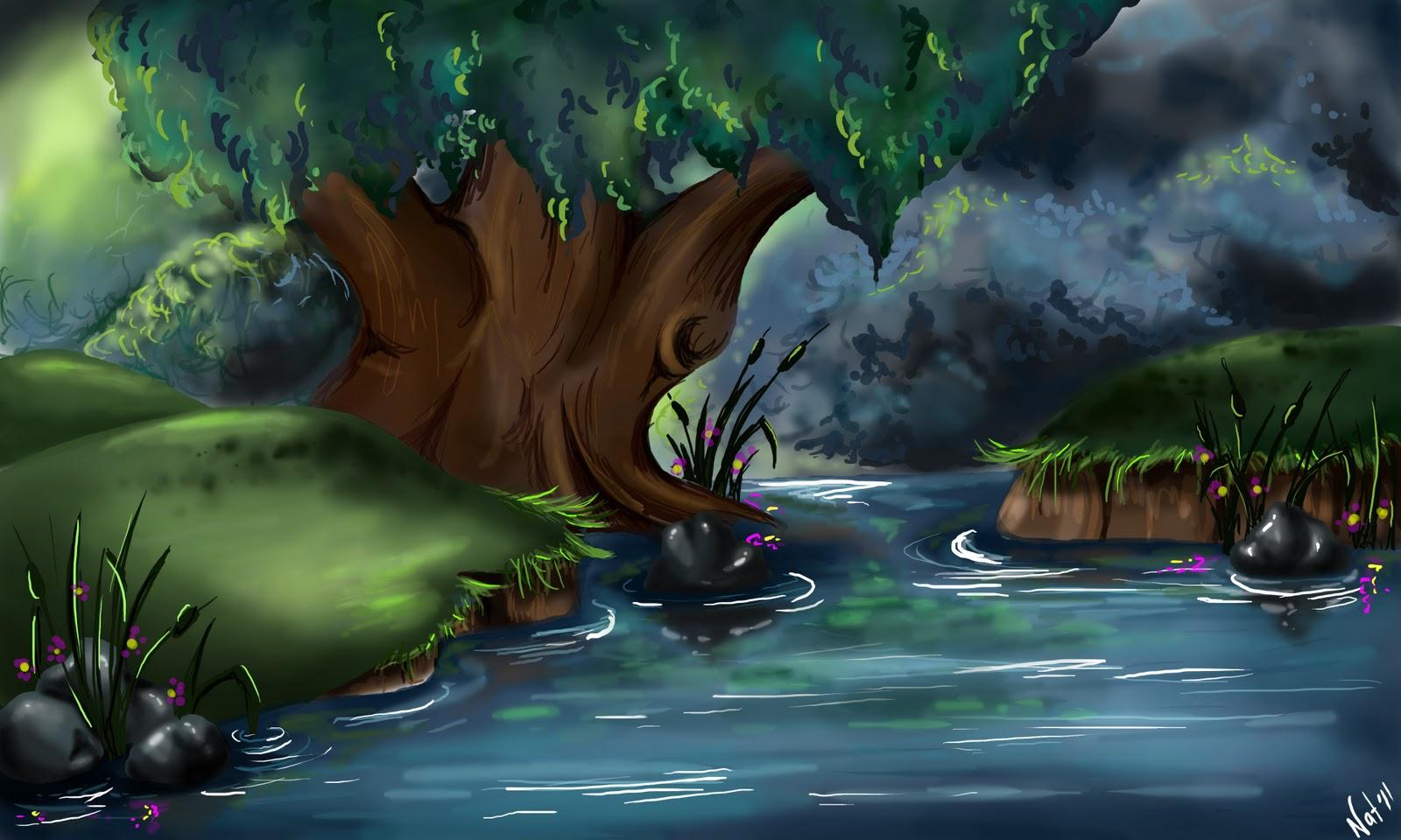 Disney Concept Art Wallpaper