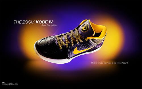 Nike Zoom Kobe IV Carpe Diem Edition Wallpaper Flickr   Photo 500x313