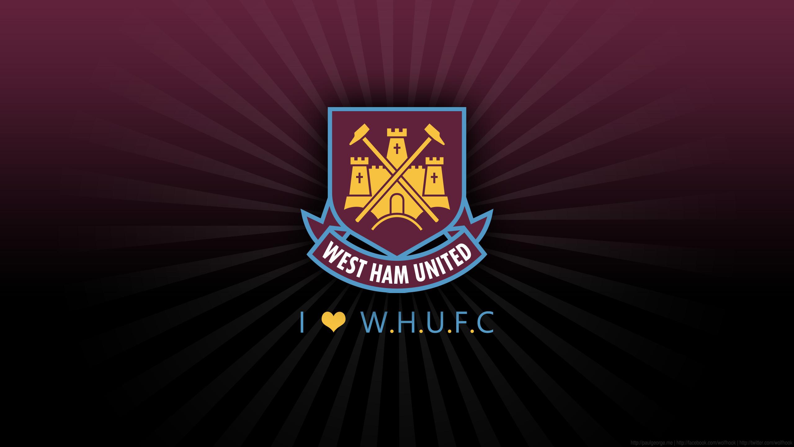 West Ham United FC HD Wallpaper Background Image 2560x1440 2560x1440