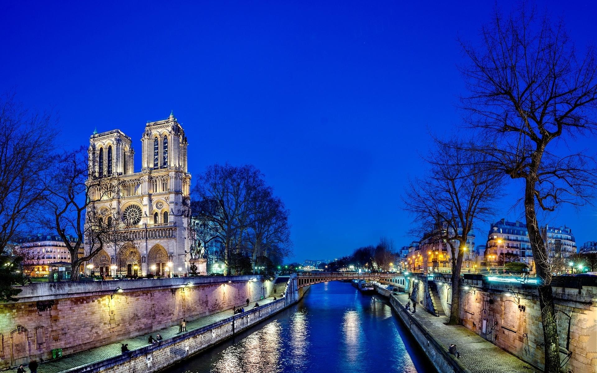 Notre Dame De Paris Computer Wallpapers Desktop Backgrounds 1920x1200