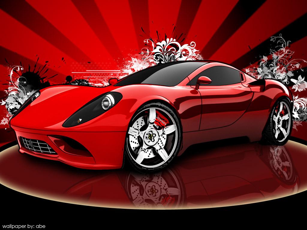 ferrari sports car wallpaper Cool Car Wallpapers 1024x768