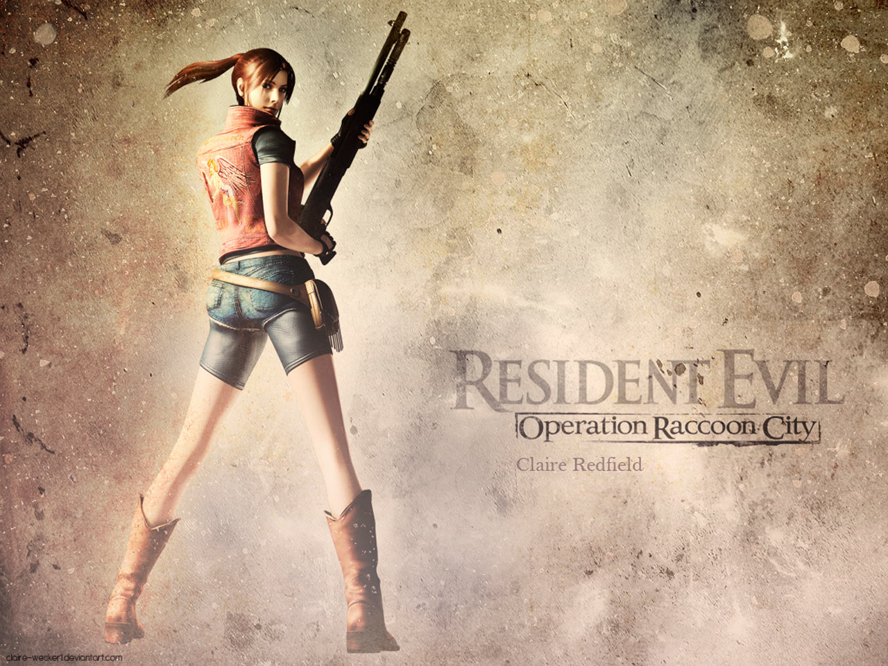 Claire Redfield revelada em Operation Raccoon City Games Msicas 1280x960