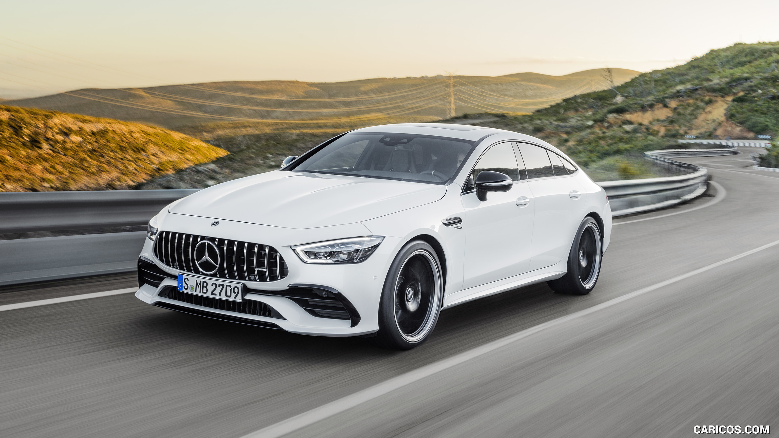 2019 Mercedes AMG GT 53 4MATIC 4 Door Coupe Color Designo 2560x1440