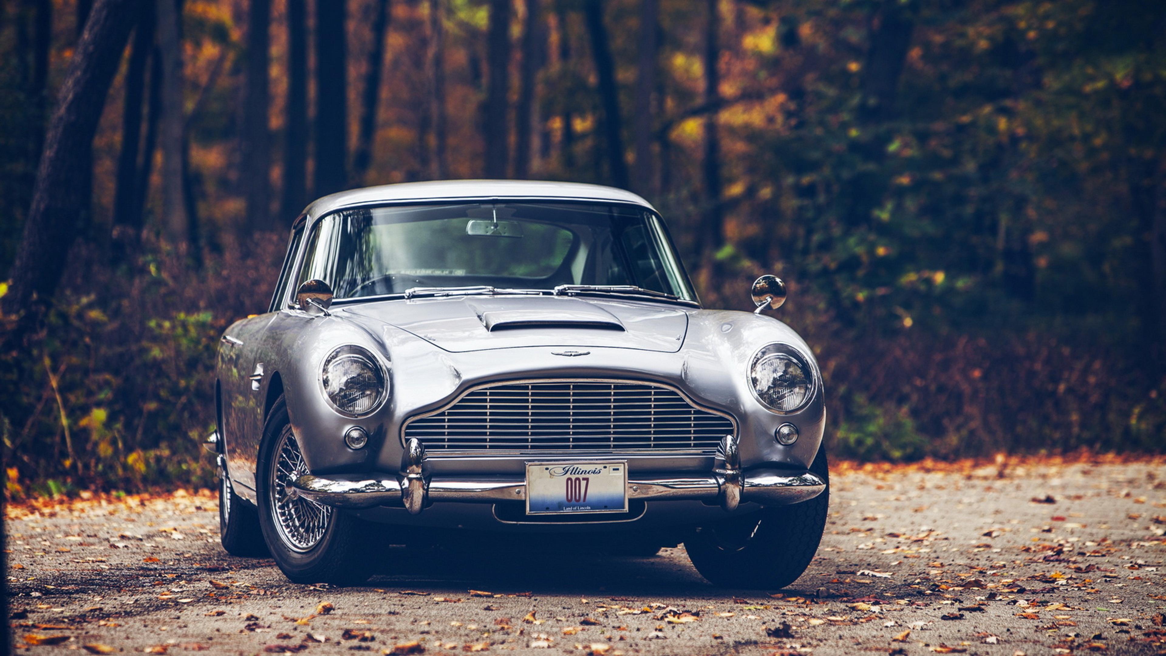 Download Wallpaper 3840x2160 Car Db5 Aston martin 4K Ultra HD HD 3840x2160
