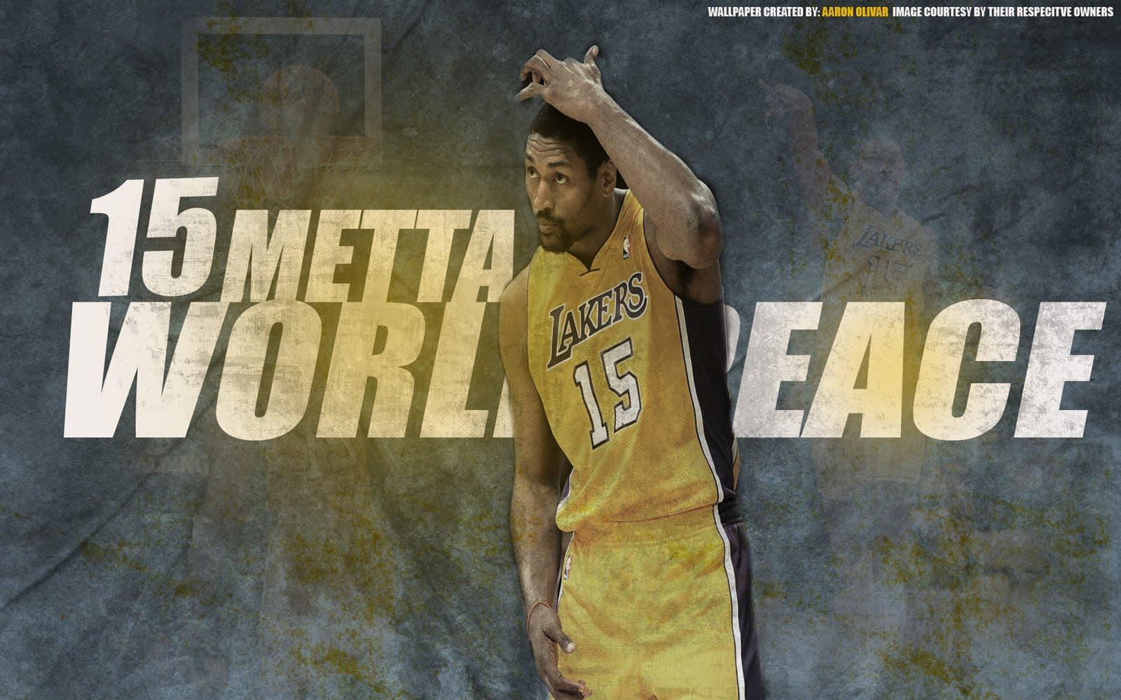 Metta World Peace Lakers 1920x1200 Wallpaper Big Fan of NBA   Daily 1600x1000