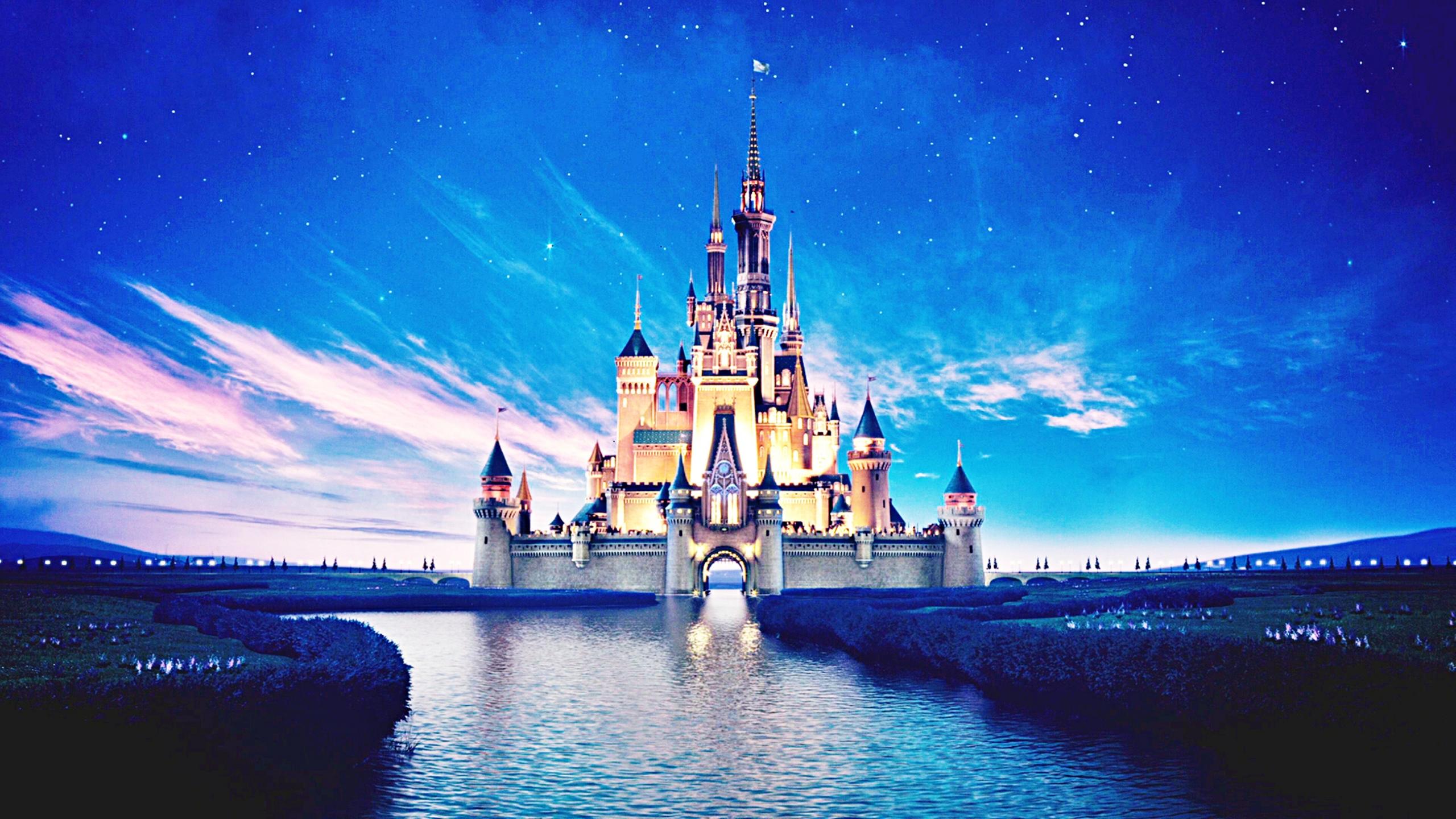 Walt Disney Screencaps   The Walt Disney Castle   Walt 2560x1440