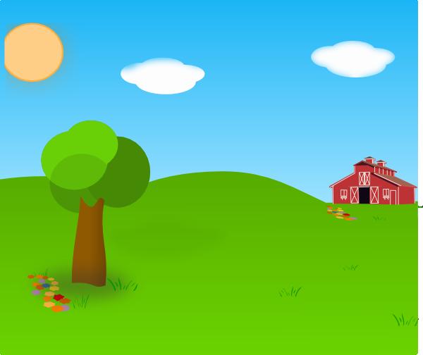 Farm Background Clip Art at Clkercom   vector clip art online 600x504