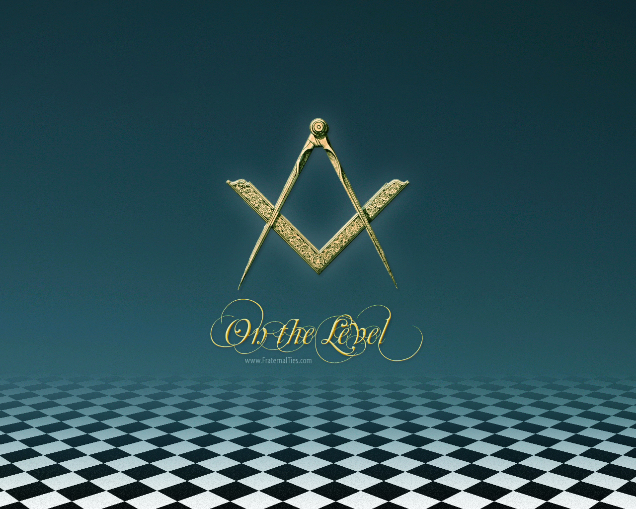 On The Level   Freemason Wallpapers FraternalTies 1280x1024