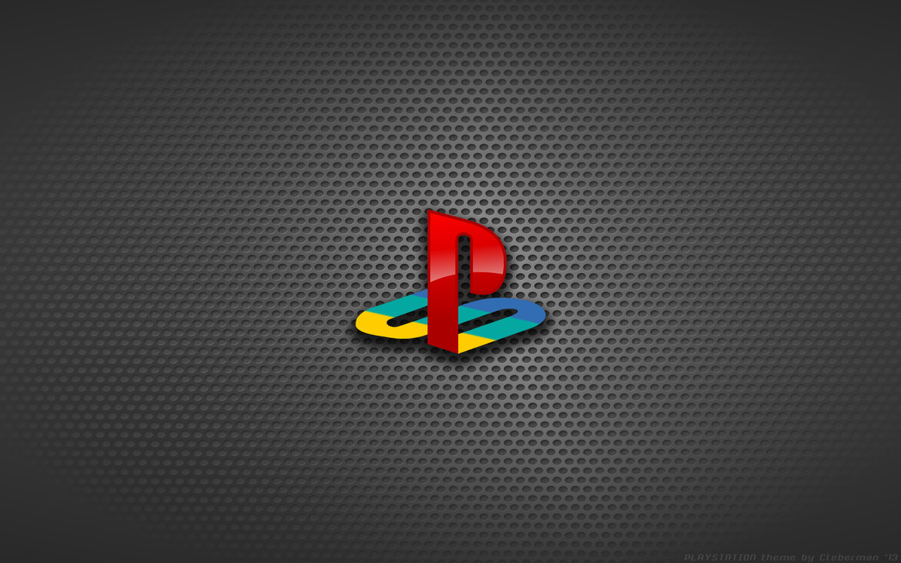 PlayStation Logo Wallpaper 1280x800