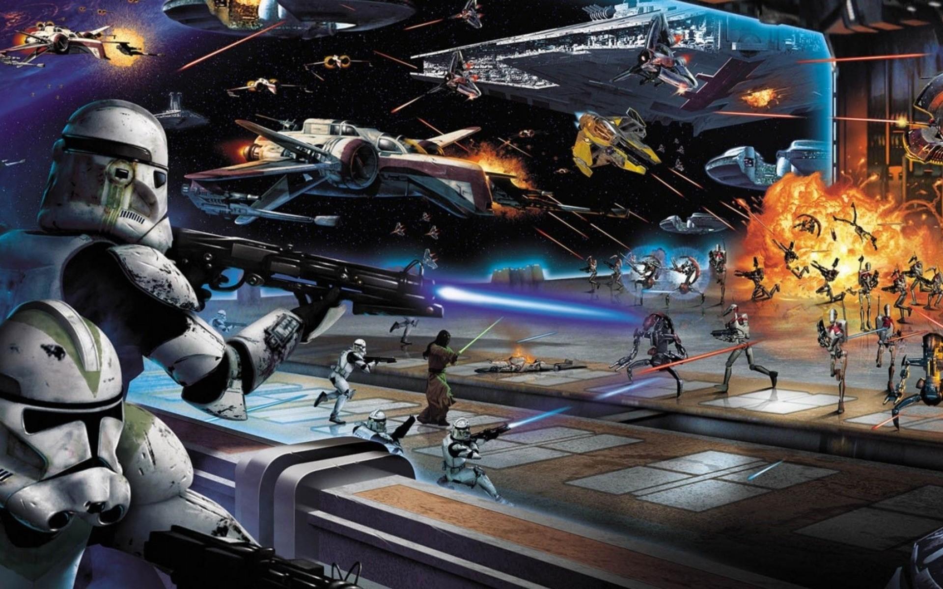 Star Wars Space Battle Wallpaper 61 images 1920x1200