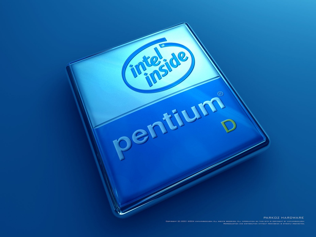 1024x768 Pentium Inside desktop PC and Mac wallpaper 1024x768