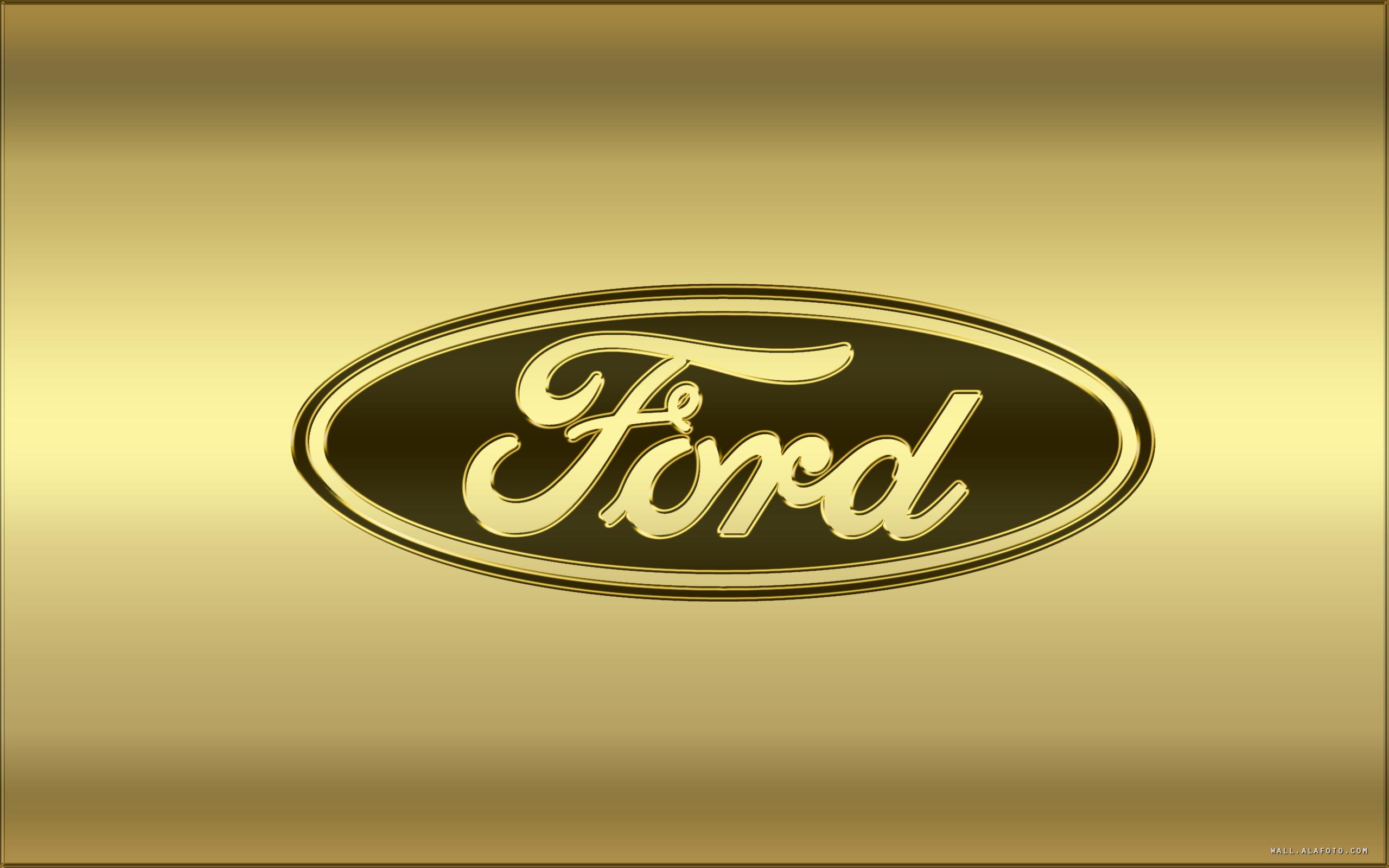 Ford Emblem Wallpaper 2560x1600